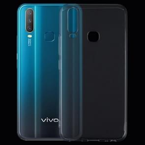 0.75mm Ultrathin Transparent TPU Soft Protective Case for Vivo Y17