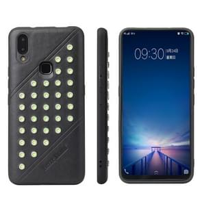 Star Series Retro Crazy Horse Texture PU Leather Case for Vivo NEX A(Black)