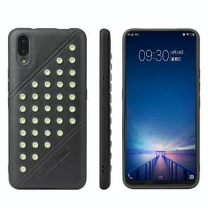 Star Series Retro Crazy Horse Texture PU Leather Case for Vivo NEX S (Black)