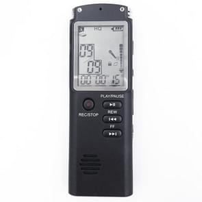 T60 monochroom scherm HD Noise Reduction digitale voice recorder  32G  ondersteuning van MP3/WAV-formaat (zwart)