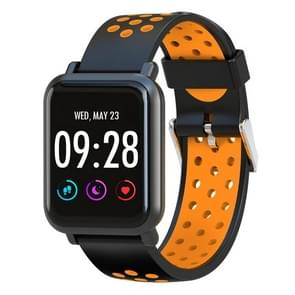 D10 1.54 inch Screen Display Bluetooth Smart Watch, Support Pedometer / Heart Rate Monitor / Sleep Monitor / Sedentary Reminder, Compatible with Android and iOS Phones(Orange)