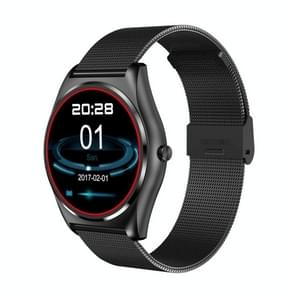 N3 Bluetooth Smart Watch, Metal Watchband, MT2502C CPU, 1.3 inch TFT Touch Screen, Support Wireless Charging / Heart Rate Monitor / Pedometer / Bluetooth Call / Calls Remind / Sleep Monitor / Sedentary Reminder / Anti-lost / Remote Capture, Compatible wit