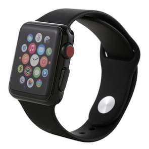 Color Screen Non-Working Fake Dummy Display Model for Apple Watch Series 3 38mm(Black)