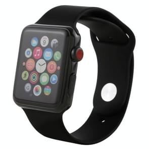 Color Screen Non-Working Fake Dummy Display Model for Apple Watch Series 3 42mm (Black)