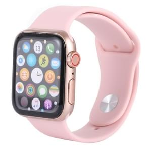 Color Screen Non-Working Fake Dummy Display Model for Apple Watch Series 4 40mm (Pink)