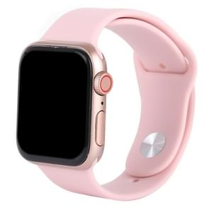 Dark Screen Non-Working Fake Dummy Display Model for Apple Watch Series 4 40mm (Pink)