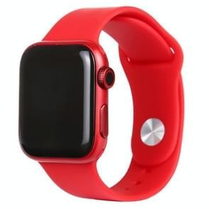 Zwart scherm niet-werkend nep dummy-displaymodel voor Apple Watch Series 6 44mm(Rood)