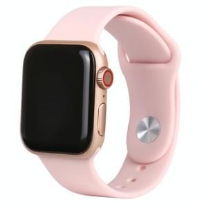 Zwart scherm niet-werkend nep dummy-displaymodel voor Apple Watch Series 6 40mm (roze)