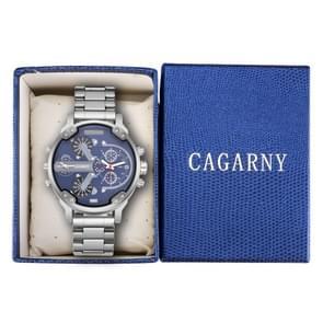 CAGARNY horloge doos verpakking Gift Box (blauw)