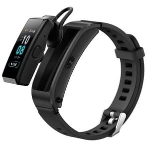 Huawei TalkBand B5 Bluetooth 4.2 Headset Fitness Tracking Sports Smart Bracelet for Android / iOS, 1.13 inch Touch AMOLED 2.5D Screen, Support Fitness Tracker / Pedometer / Sleep Monitor(Black)