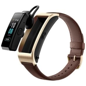 Huawei TalkBand B5 Bluetooth 4.2 Headset Fitness Tracking Business Smart Bracelet for Android / iOS, 1.13 inch Touch AMOLED 2.5D Screen, Support Fitness Tracker / Pedometer / Sleep Monitor (Brown)