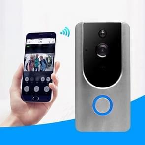 VESAFE Home VS-M3 HD 720P beveiligings camera Smart WiFi video deurbel intercom  ondersteuning TF Card & Night Vision & PIR detectie APP voor IOS en Android (met ding dong/Chime) (grijs)