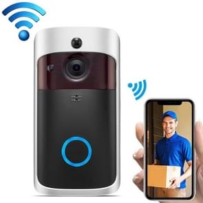 V5 Standard Edition 720P Wireless WiFi Smart Video Doorbell  Support Motion Detection & Infrared Night Vision & Two-way Voice(Black Silver)