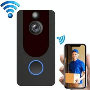 V7 Standard Edition 1080P Wireless WiFi Smart Doorbell  Support Motion Detection & Infrared Night Vision & Two-way Voice(Black)