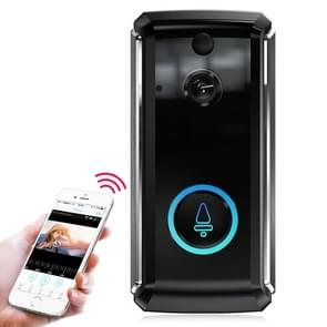 M101 WiFi Intelligent Video Doorbell, Support Infrared Night Vision / Motion Detection / Two-way Intercom / 32GB SD Card (Black)