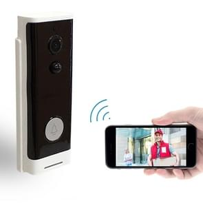M200A WiFi Intelligent Round Button Video Doorbell, Support Infrared Motion Detection & Adaptive Rate & Two-way Intercom & Remote / PIR Wakeup(White)