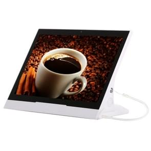 10.1 inch IPS Touch Screen Stand All in One PC, 2GB+8GB, Android 6.0 RK3128 Cortex A7 Quad Core Up to 1.3GHz, Support Bluetooth & WiFi & RJ45 & TF Card(32GB Max) & HDMI & 3.5mm Audio Port(White)