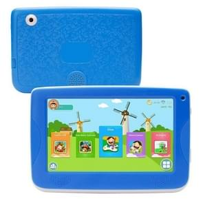 758 Kids Education Tablet PC with Bracket, 7.0 inch, 512MB+8GB, Android 4.4 Allwinner A33 Cortex A7 Processor, Support WiFi / Micro SD Card / G-sensor(Blue)
