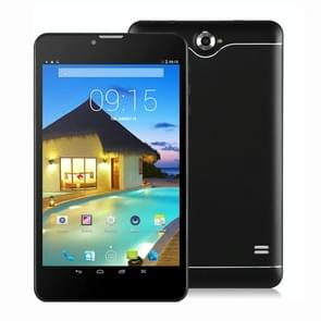 T25 3G Phone Call Tablet PC, 7 inch, 512MB + 8GB, Android 4.4 MTK 6582 Quad Core 1.3GHz, Support WiFi / Bluetooth / OTG / G-sensor(Black)