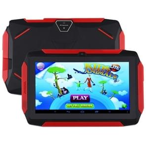 Q98 Kids Game Tablet PC  7 0 inch  1GB+8GB  Android 9.0 Allwinner A50 Quad Core  Support WiFi / Bluetooth / TF Card / G-sensor / Dual Camera (Zwart)