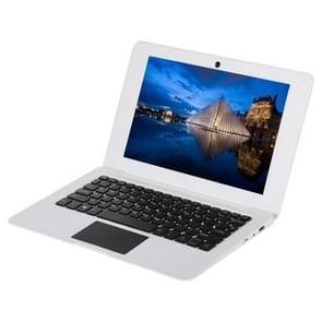 1068 Laptop, 10.1 inch, 2GB+32GB, Windows 10, Intel Atom X5-Z8350 Quad Core up to 1.92GHz, Support USB, TF Card, WiFi, Bluetooth, HDMI (White)