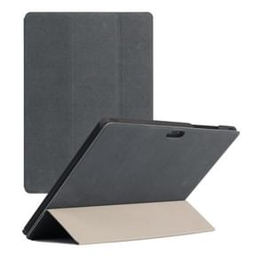 Horizontal Flip PU Leather Case for CHUWI Hi9 Air Tablet(Grey)