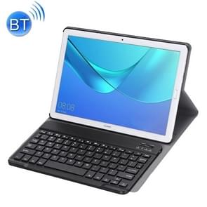 Detachable Bluetooth Keyboard Ultrathin Horizontal Flip Leather Case for Huawei MediaPad M5 10.8 inch, with Holder (Black)