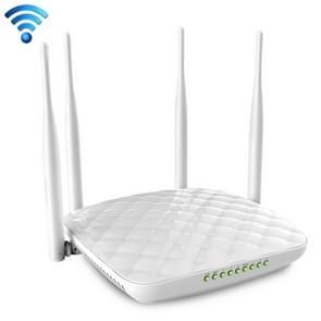 Tenda FH456 Wireless 2.4GHz 300Mbps WiFi Router with 4*5dBi External Antennas(White)