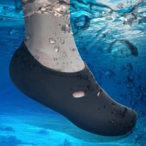 Comfortabel en antislip 3 MM duiken sokken ademend water zwemmen aan het strand zwemmen sokken maat: L (38-39)(Black)