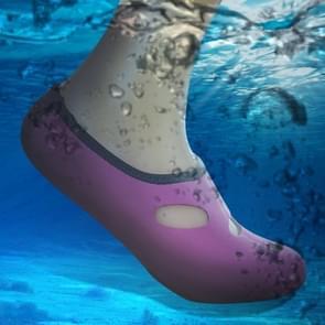 Comfortabel en antislip 3 MM duiken sokken ademend water zwemmen aan het strand zwemmen sokken maat: L (38-39)(Magenta)