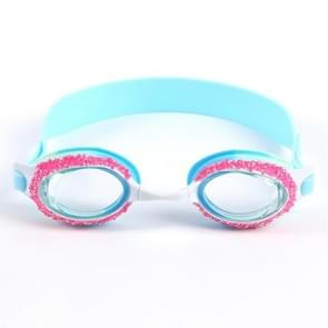 YG-1718 Children Cartoon Silicone Swimming Glasses (Grey)