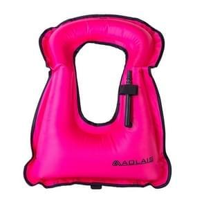 Kinderen draagbare snorkelen drijfvermogen opblaasbare Vest zwemvest zwemmen apparatuur  grootte: 510 * 400mm (paars)