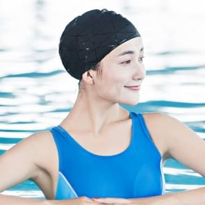 Original Xiaomi Mijia 7th Matte Silicone Waterproof Swimming Cap for Adult, Ears Protection Hat(Black)