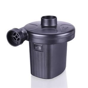 CZ-208 50-60W 2A 12V ABS Home Car Dual Purpose Small-scale Inflatable Pump, US Plug, Line Length: 1.8m(Black)