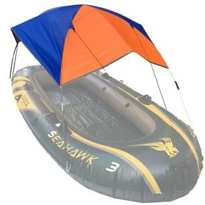 68351 Folding Awning Canoe Rubber Inflatable Boat Parasol Tent for 4 Person,Boat is not Included