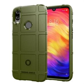 Full Coverage Shockproof TPU Case for Xiaomi Redmi Note 7 (Army Green)