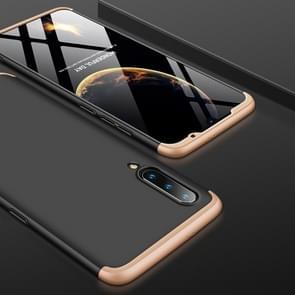 GKK Three Stage Splicing Full Coverage PC Case for Xiaomi Mi 9 (Black Gold)