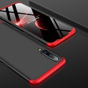 GKK Three Stage Splicing Full Coverage PC Case for Xiaomi Mi 9 (Black Red)