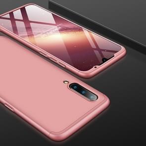 GKK drie stage splicing volledige dekking PC Case voor Xiaomi mi 9 (Rose goud)