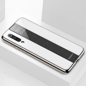 Electroplated Mirror Glass Case for Xiaomi Mi 9(White)