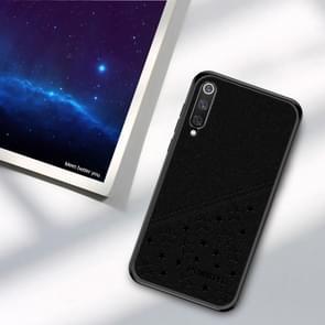 PINWUYO Full Coverage Waterproof Shockproof PC+TPU+PU Case for Xiaomi Mi 9 SE (Black)
