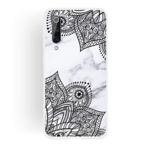 Diagonal Lace Matte Semi-transparent TPU Marble Phone Case for Xiaomi Mi 9 SE