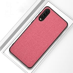 Shockproof Cloth Texture PC+ TPU Protective Case for Xiaomi Mi 9 (Pink)