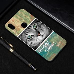 Cat Painted Pattern Soft TPU Case for Xiaomi Redmi Note 7