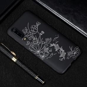 Lotus Pond Painted Pattern Soft TPU Case for Xiaomi Mi 9