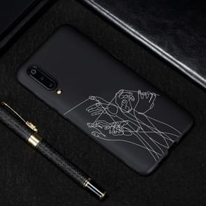 Five Hands Painted Pattern Soft TPU Case for Xiaomi Mi 9