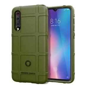 Full Coverage Shockproof TPU Case for Xiaomi Mi 9 (Army Green)