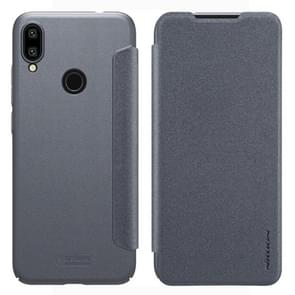 NILLKIN Frosted Texture Horizontal Flip Leather Case for Xiaomi Redmi Note 7 (Grey)