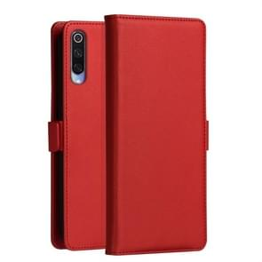 DZGOGO MILO Series PC + PU Horizontal Flip Leather Case for Xiaomi Mi 9, with Holder & Card Slot & Wallet (Red)