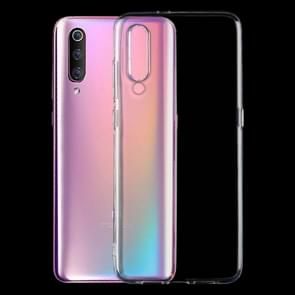 0 75 mm transparant TPU Case voor de Xiaomi Mi 9(Transparent)